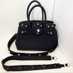 SAVE MY BAG Miss Bag Black Label Monaco Satchel